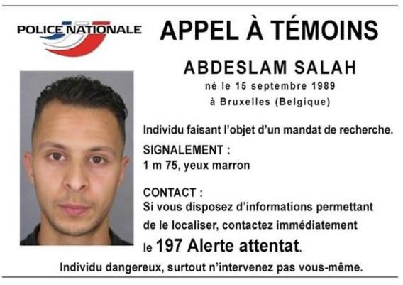 Internationaal gezochte Abdeslam Salah werkte voor MIVB