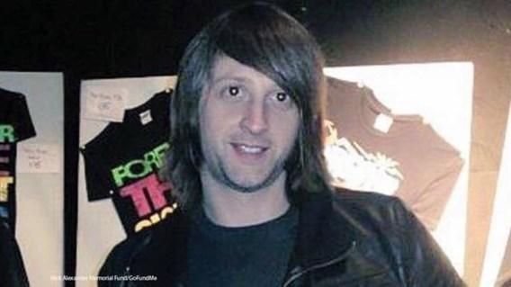 Nick Alexander, de Brit die stierf terwijl hij T-shirts verkocht