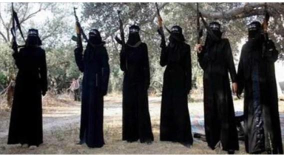 In het IS-kalifaat worden vrouwen hooguit ingezet in het korps dat de kledingsvoorschriften van andere vrouwen controleert.