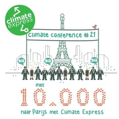 Klimaatmars wijkt uit naar Oostende