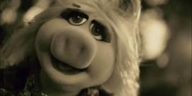 Emotionele Miss Piggy covert Adele