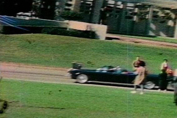 Een still uit het filmpje van Orville Nix.