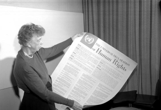 Eleanor Roosevelt speelde een belangrijke rol bij de totstandkoming van de Verklaring.