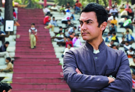 Aamir Khan is een gevierd acteur in India.
