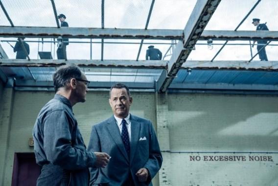 """<p>Spion Rudolf Abel (Mark Rylance) en zijn advocaat James Donovan (Tom Hanks): cinemachemie tussen topacteurs.<span class=""""credit"""">rr</span></p>"""