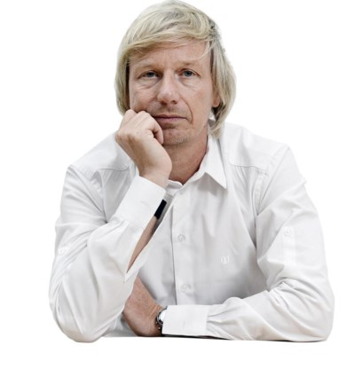 'Humo'-hoofdredacteur Jörgen Oosterwael.
