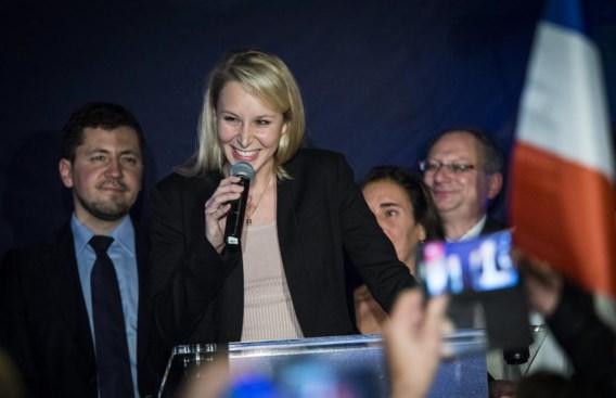Marion Le Pen haalde in de regio Provence-Alpes-Côte d'Azur een score van 40,6 %.