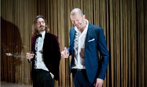 Christophe Aussems (rechts) staat opnieuw op toneel.