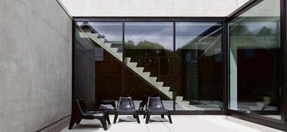 Betonbouw: een massief plan dat staat als een huis.