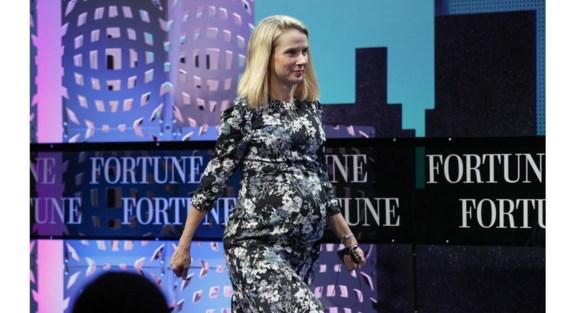 Een dag in het leven van Marissa Mayer: van strategische koerswijziging naar bevallen van een tweeling.