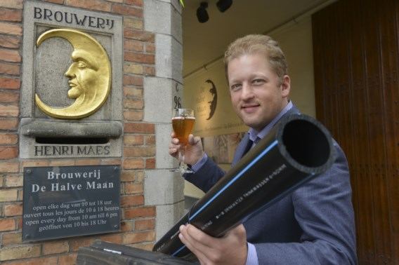 Aanleg bierpijplijn onder Brugge van start