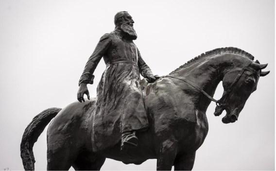 Het monument van Leopold II op het Troonplein in Brussel.