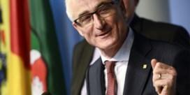 Minister-president Geert Bourgeois feliciteert nieuwe groep Picanol Tessenderlo