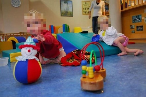 Baby sterft in crèche