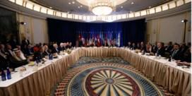 Moeizaam overleg over Syrië