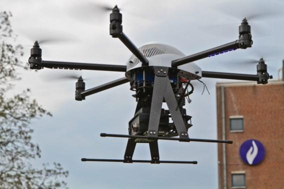Luchtsteun van federale politie neemt eerste drone in gebruik