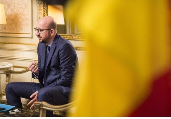 Charles Michel: 'Twee jaar geleden dacht ik daar heel anders over, maar nu als eerste minister, aanvaard ik dat ik de mensen ook moet tonen wie ik ben.'