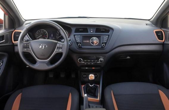 De kleuren voor het dashboard en de stoelen kunnen worden gematcht.