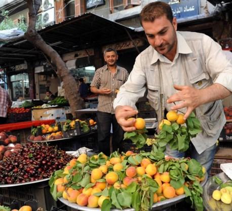 Markt in Damascus.