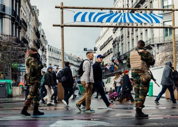 Brussel, in november 2015. Het buitenlandse geweld raakt via de oorlog in Syrië verweven met onze binnenlandse samenleving.
