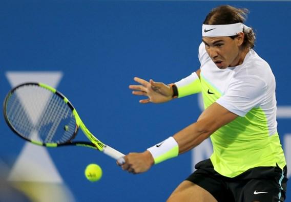 Zege voor Rafael Nadal in exhibitie Abu Dhabi