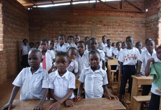 Een weeshuis in Boma, een havenstad in het westen van Congo.