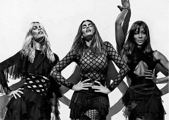 Balmain brengt supermodellen uit jaren 90 terug samen