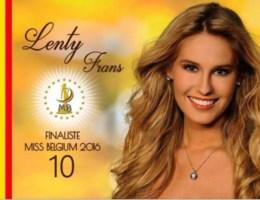 Lenty Frans tot nieuwe Miss België gekroond