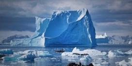 Smeltende ijsbergen helpen klimaat