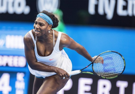 """Serena Williams zelfzeker: """"Ik zal er staan op Australian Open"""""""