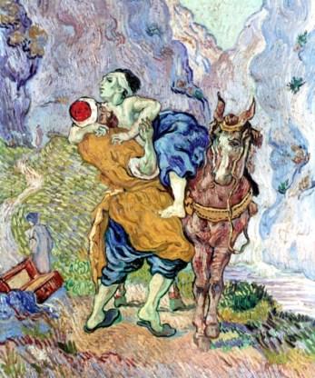 'De Barmhartige Samaritaan' (1890), van Vincent van Gogh.
