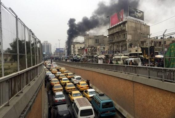 Bomaanslag en gijzeling in winkelcentrum Bagdad