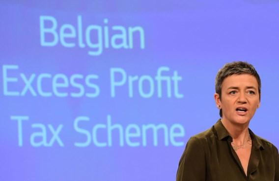'België heeft een selecte groep multinationals aanzienlijke belastingvoordelen verleend die in strijd zijn met de EU-regels inzake staatssteun', zegt eurocommissaris voor Concurrentie Margrethe Vestager.