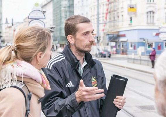 Daklozen geven toeristen rondleiding door het 'andere Wenen'
