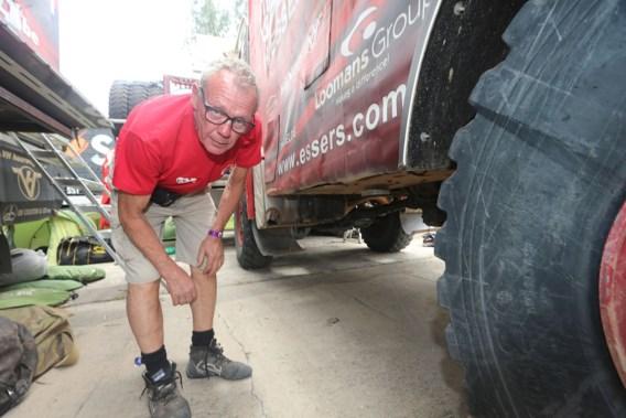 72-jarige Limburger haalt finish van Dakar 2016