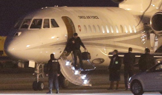 Vliegtuig met Iraans-Amerikaans vrijgelaten gevangenen geland in Genève