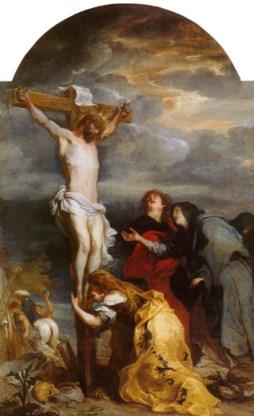 Deze Van Dyck komt uit Antwerpen en hangt nu in Rijsel.