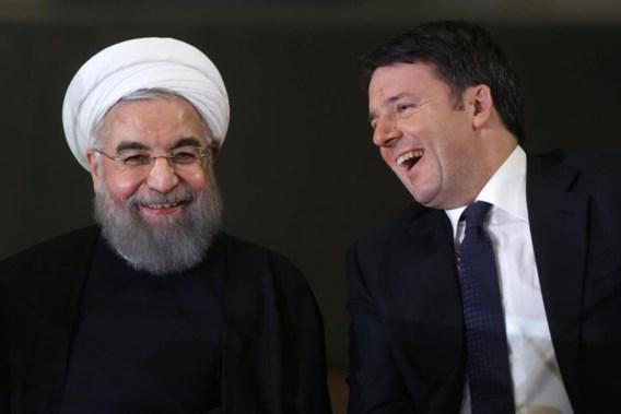 Rome bedekt naakte figuren voor bezoek Iraanse president