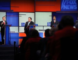 Trump stuurt kat naar debat maar wint toch