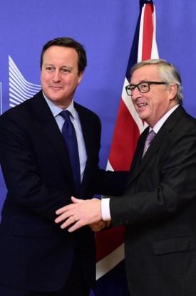 David Cameron en Jean-Claude Juncker.