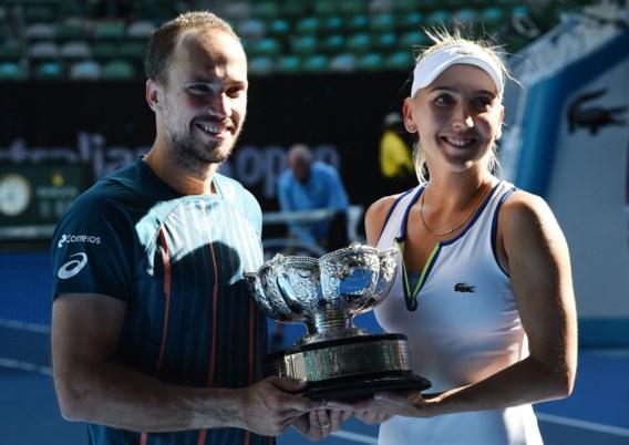 Soares en Vesnina winnen gemengd dubbelspel op Australian Open