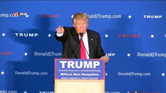 'En de verliezer is… Donald Trump'