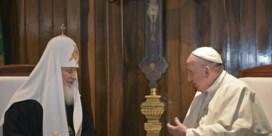 Historische ontmoeting tussen paus en patriarch