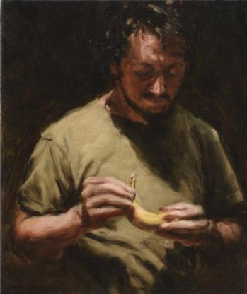 'The banana' van Michaël Borremans: 335.000 euro.