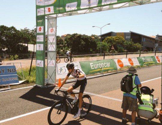Jaco Venter (Team Dimension Data) is Zuid-Afrikaans kampioen op de weg