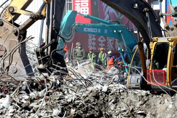 Taiwan staakt zoektocht naar slachtoffers aardbeving