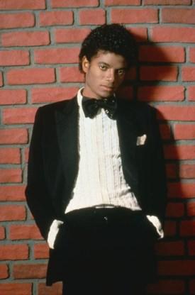 Michael Jackson aan het prille begin van zijn solocarrière.