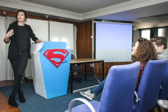 Het project van Anouk Taeymans wordt binnenkort in Londen voorgesteld. 'Superchill', vindt ze.