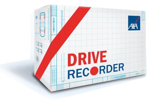 Vier parameters registreert dit apparaat: snelheid, versnellen, remmen en bochtenwerk.