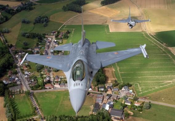 Opvolger F-16's zal België in 40 jaar tijd 15 miljard euro kosten